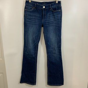 WHBM The Boot Jeans 4S Short Bootcut Jeans